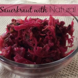 Homemade Sauerkraut – How to MAKE your own Probiotics
