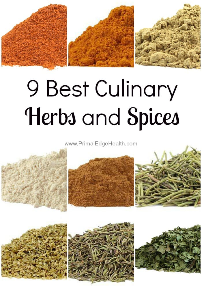 9 Best Culinary Herbs and Spices