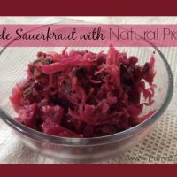 how to make raw sauerkraut