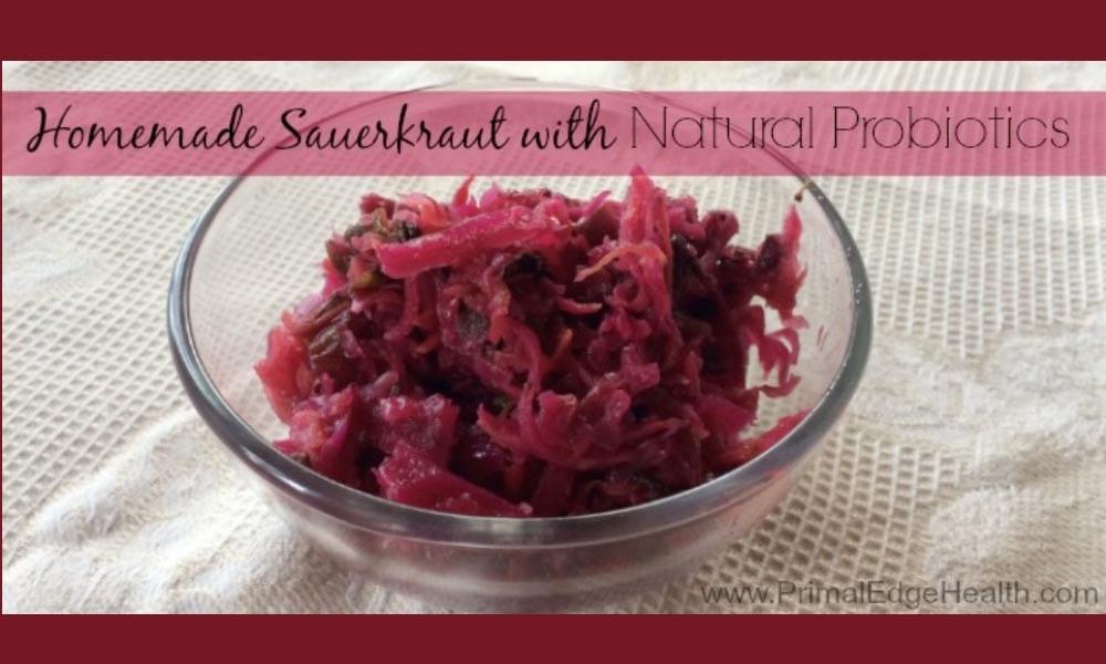 Homemade Sauerkraut – How to MAKE your own Probiotics