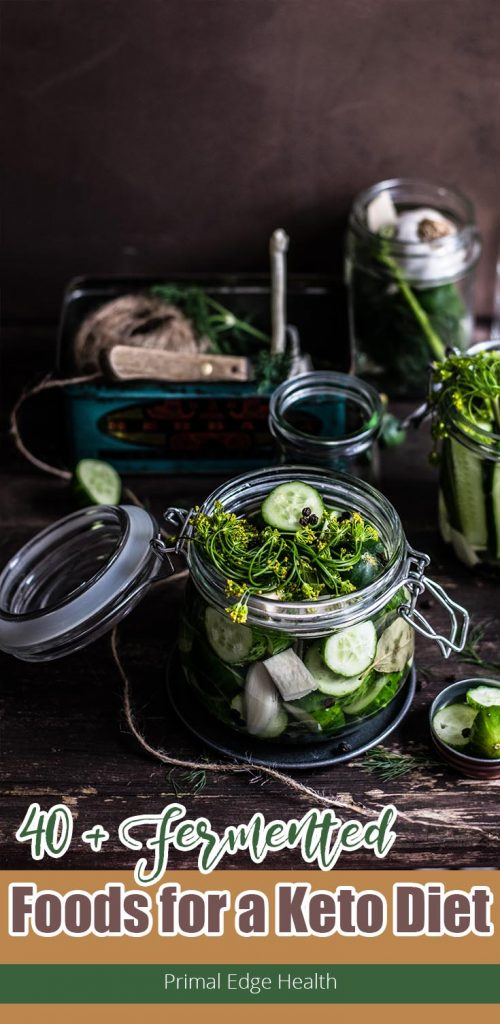 40+ fermented foods for a ketogenic diet