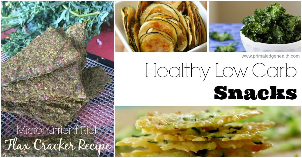 Healthy low carb snacks primal edge health for Quick and easy low carb dinner ideas