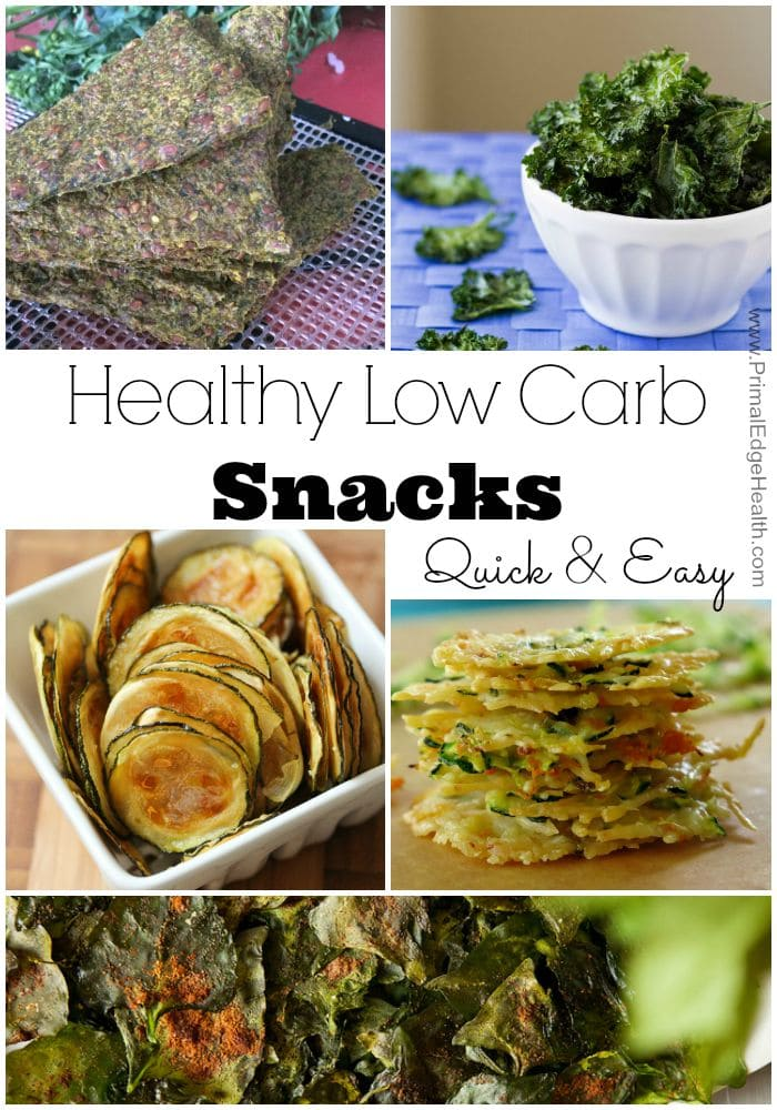 Healthy Low carb snacks quick and easy