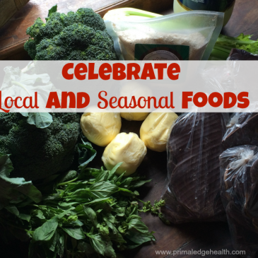 celebrate local and seasonal foods