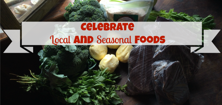 Celebrate Local and Seasonal Foods {In My Kitchen}