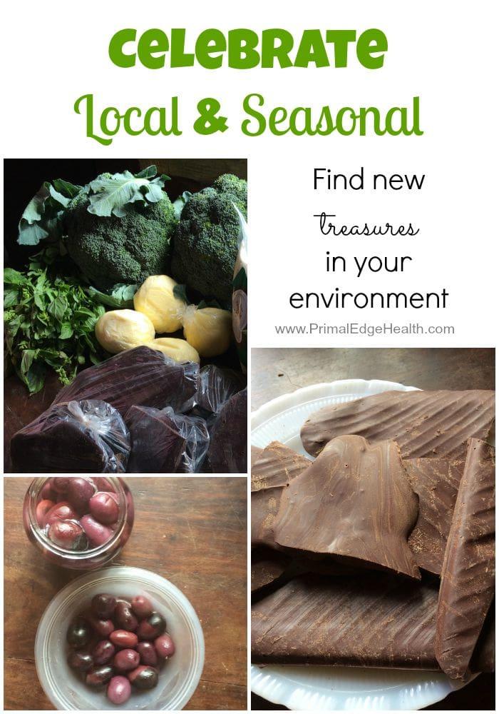 celebrate local and seasonal