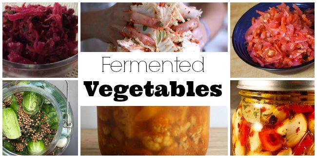 fermented vegetable recipes