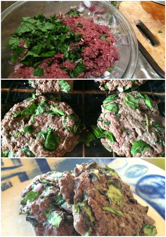 how to make healthy beef burger patties