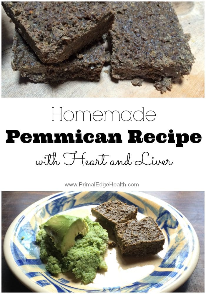 Homemade Pemmican Recipe with Heart and Liver
