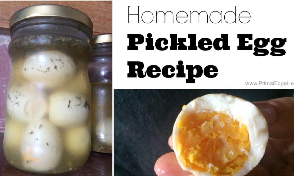 Homemade Pickled Egg Recipe