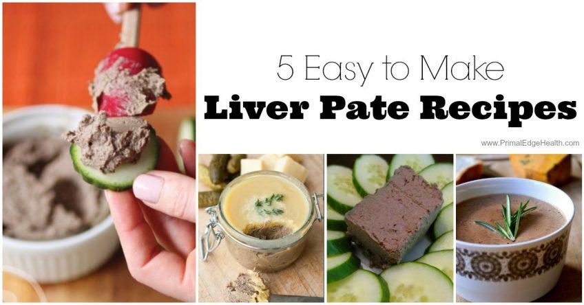 Liver pate recipes
