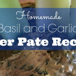 Garlic and Basil Liver Pate Recipe