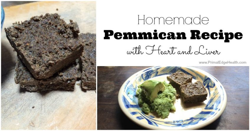 pemmican homemade recipe with heart and liver