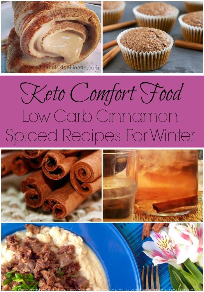 Keto Comfort Food with Cinnamon