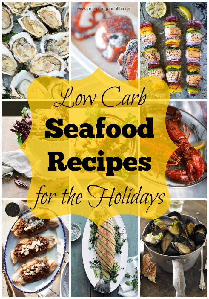 Low Carb Seafood Recipes for the Holidays