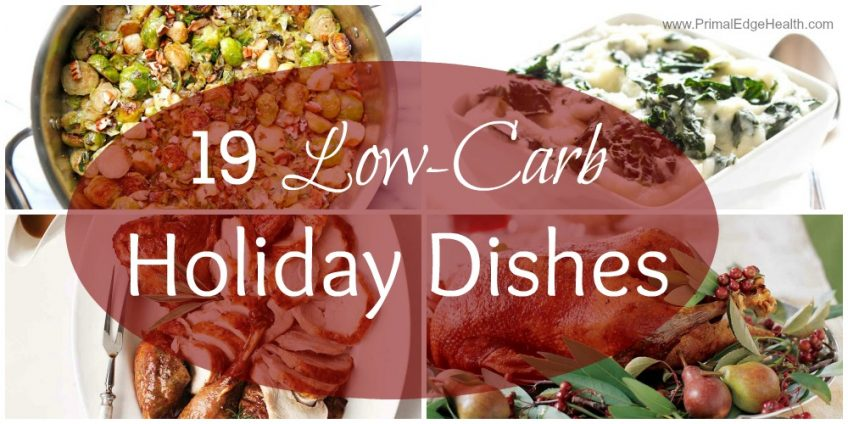 low-carb holiday dishes