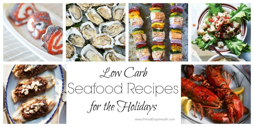 low carb seafood holiday recipes