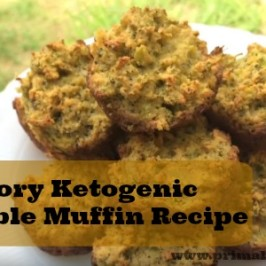 Savory Ketogenic and Low-Carb Muffin Recipe