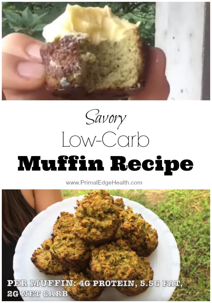 Savory Low-Carb Vegetable Muffin Recipe
