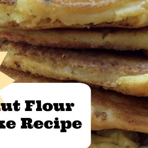 low-carb coconut flour pancake recipe