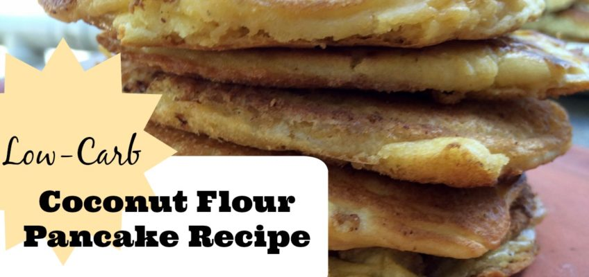 Low-Carb Coconut Flour Pancakes