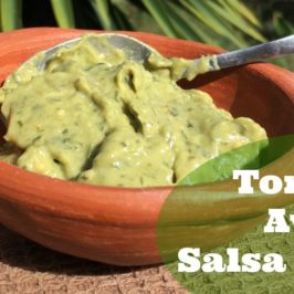 Tomatillo Avocado Salsa Recipe