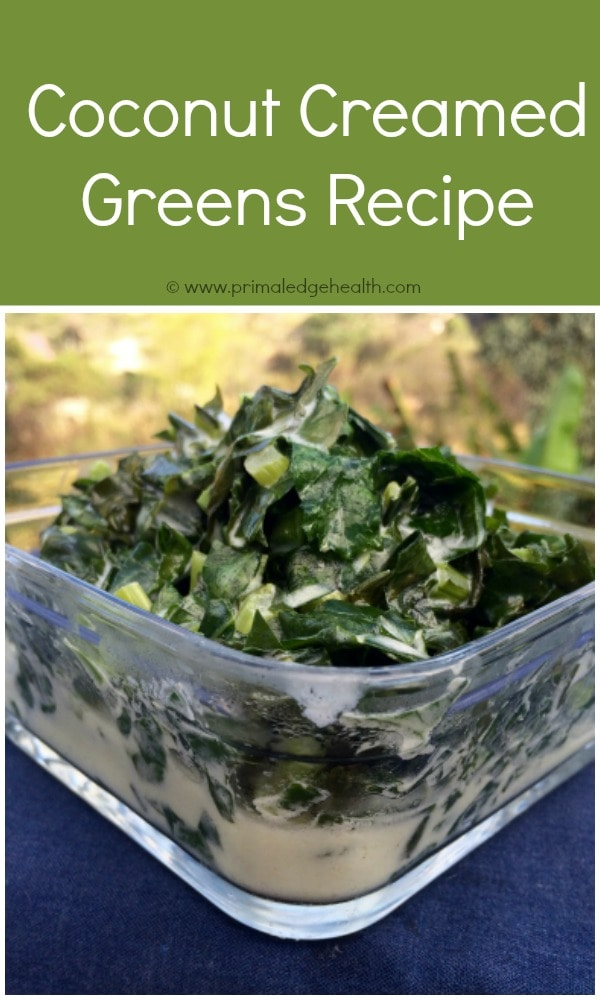 Coconut Creamed Greens Recipe