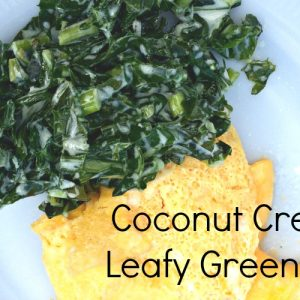coconut creamed leafy green recipe