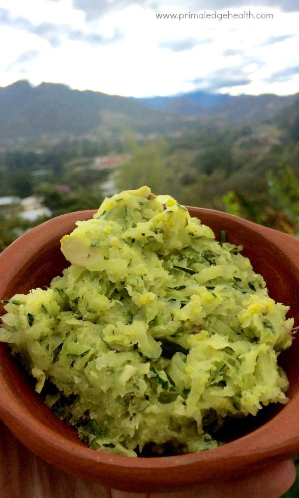 zucchini herb butter recipe