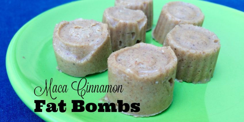 Maca Cinnamon Fat Bombs