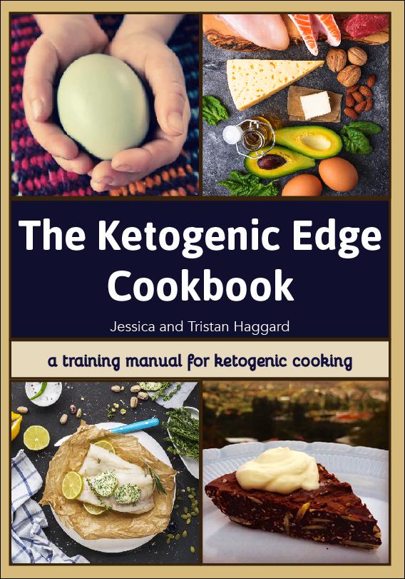 The ketogenic edge cookbook cover