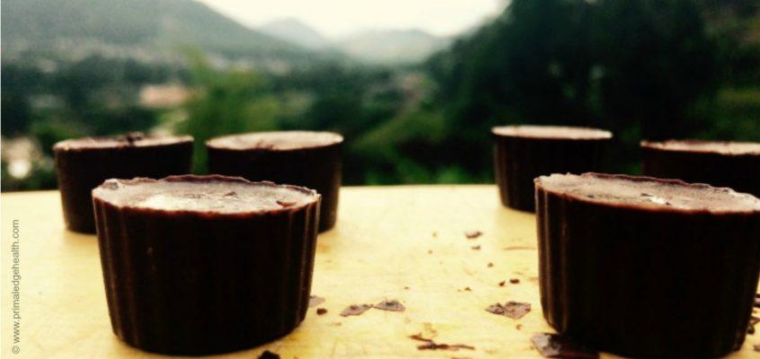 Sugar-Free Chocolate Bites with Reishi and Shilajit