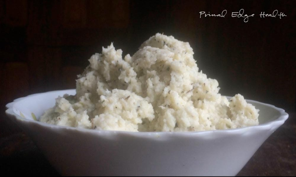 Low-Carb Alternative to Mashed Potatoes - Primal Edge Health