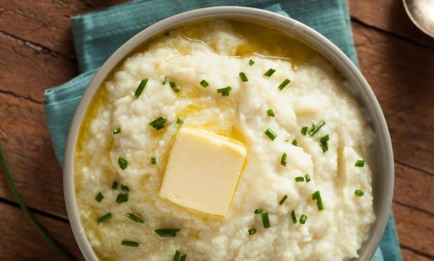 mashed potato substitute keto