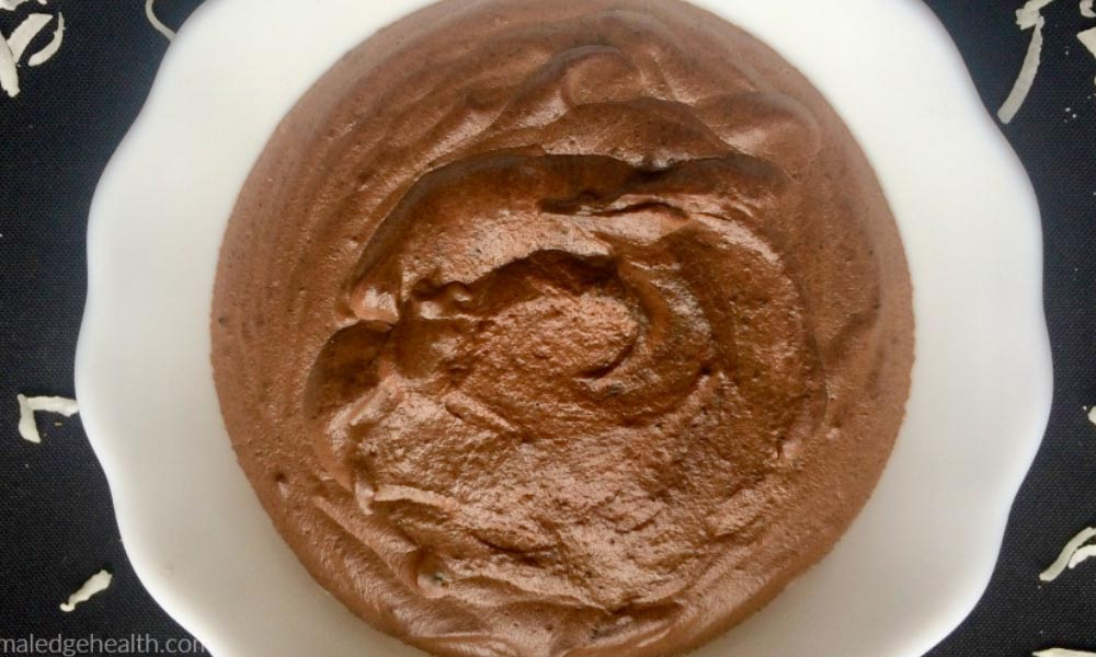 thin mint chocolate pudding
