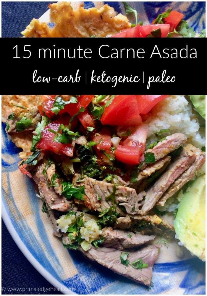 15 minute Carne Asada