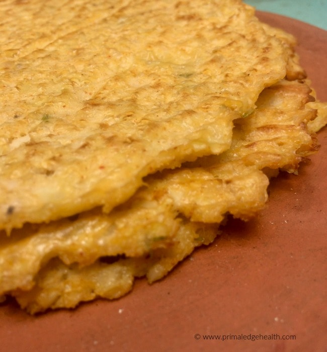 cheesy cauliflower tortillas