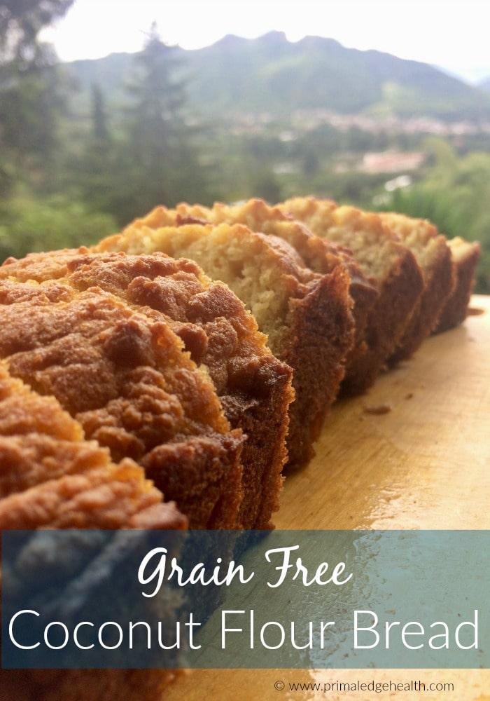 Grain Free Coconut Flour Bread Recipe