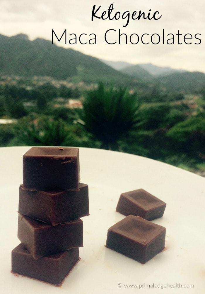 Ketogenic Maca Chocolate Recipe