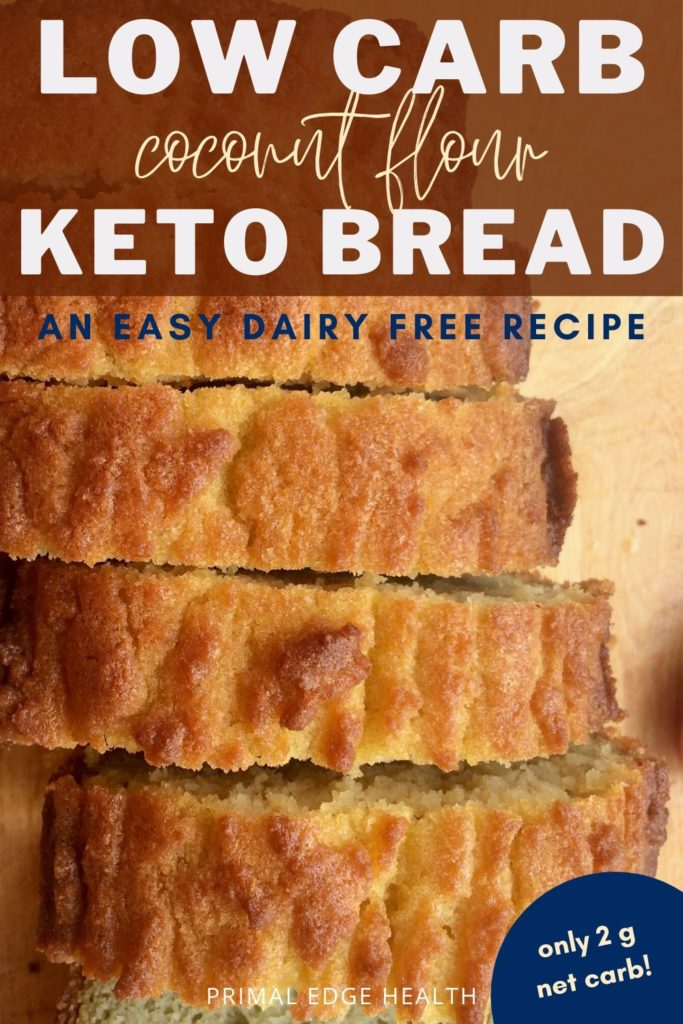 Low Carb Coconut Flour Keto Bread Recipe