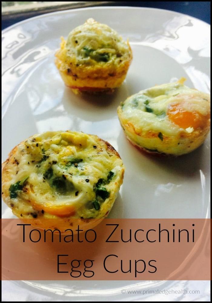 Tomato Zucchini Egg Cup Recipe