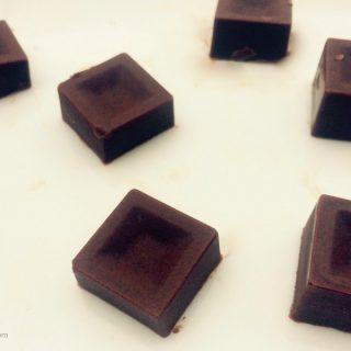 keto chocolate maca squares