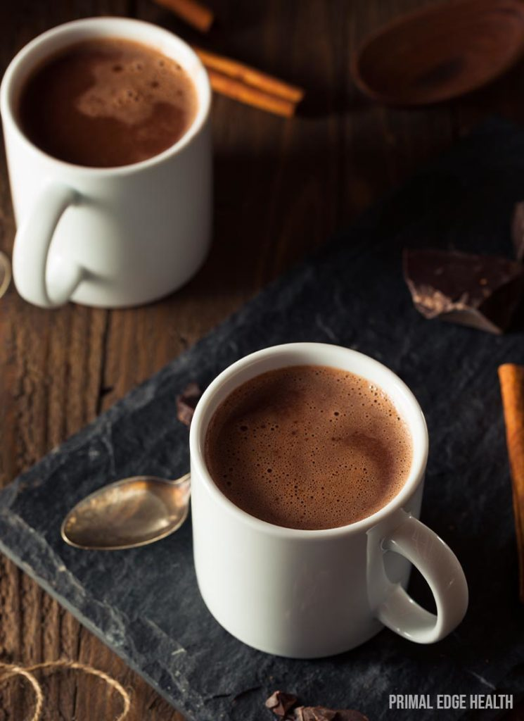 sugar free hot chocolate drink