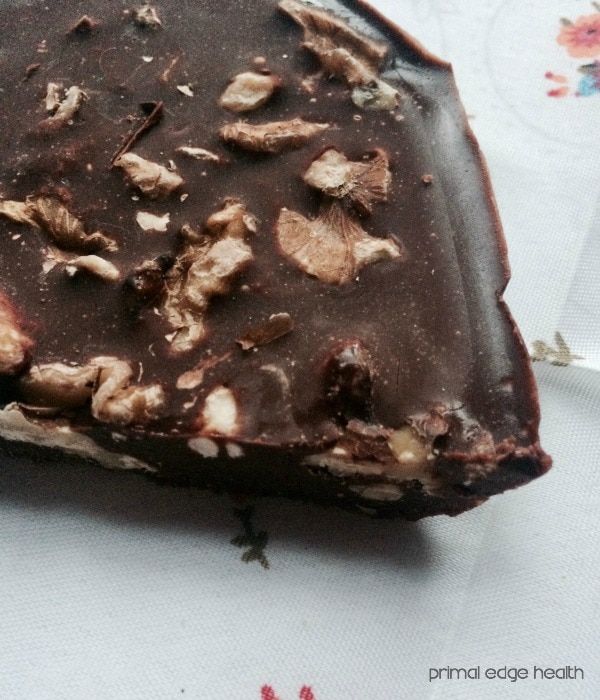 chocolate walnut ketogenic fudge recipe