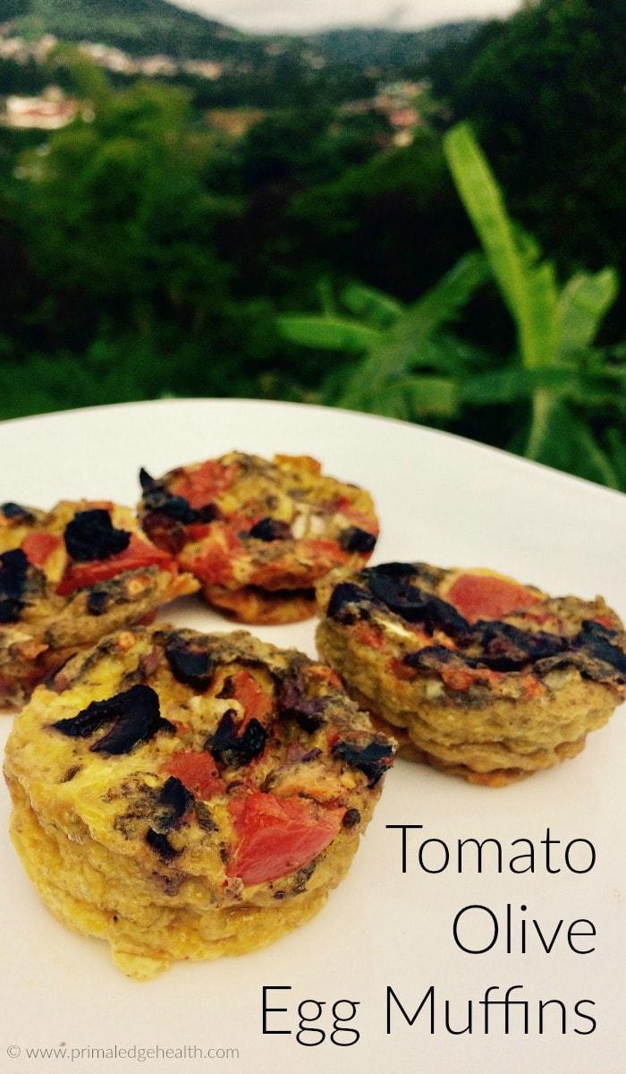Tomato Olive Egg Muffin Recipe