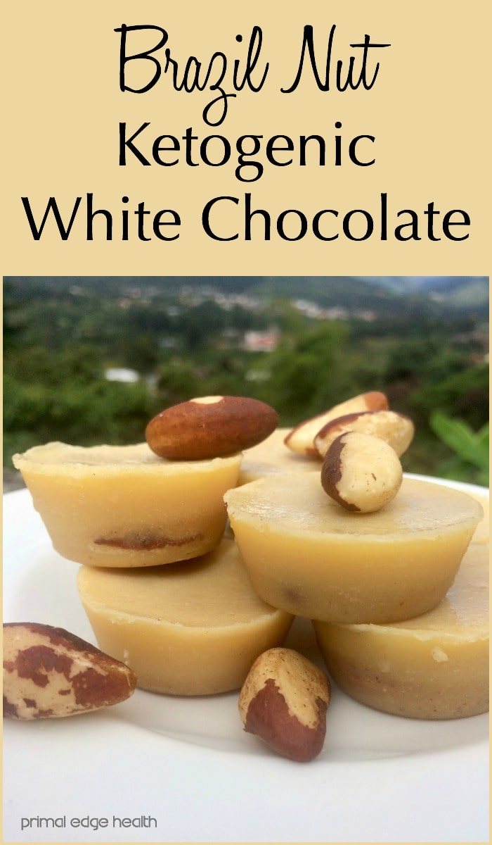 Brazil Nut Ketogenic White Chocolate Recipe - Primal Edge Health