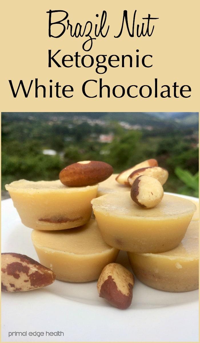 Brazil Nut Ketogenic White Chocolate - Primal Edge Health