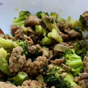 ground beef and broccoli stir-fry featured image