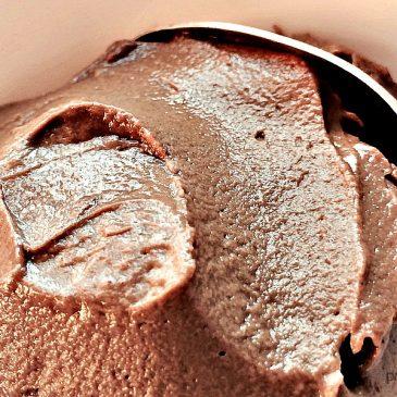 Silky Hazelnut Chocolate Mousse