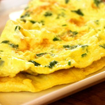 ketogenic omelette featured image